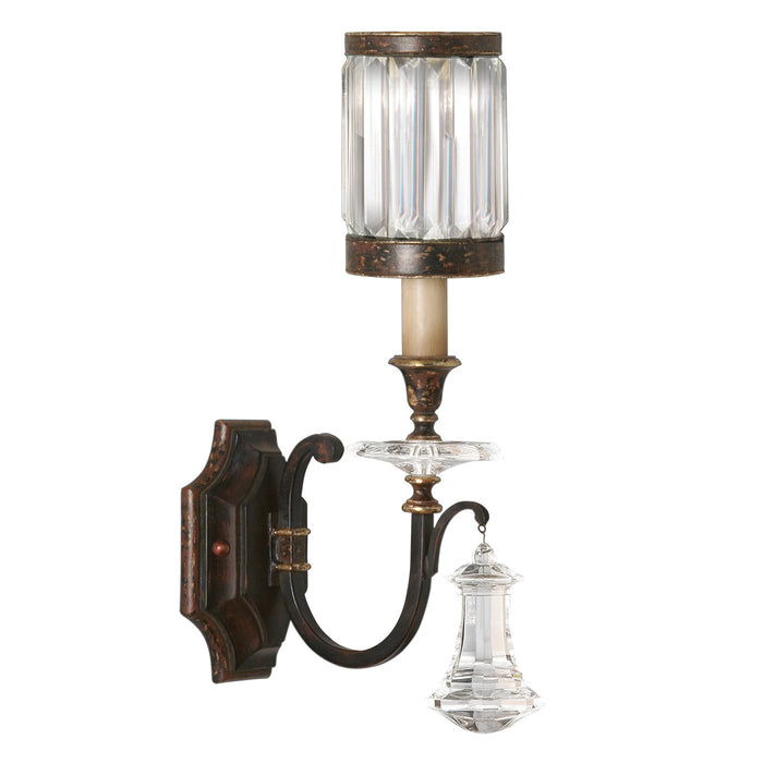 Eaton Place 1 Light Sconce - Rustic Iron
