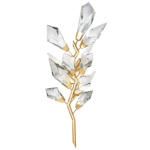 Foret Small Wall Sconce - Gold Leaf