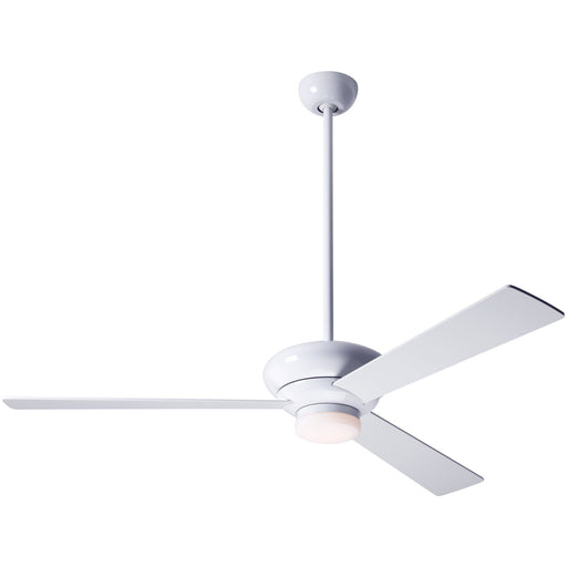 "Altus Ceiling Fan 52"" - Gloss White (LED Light)"