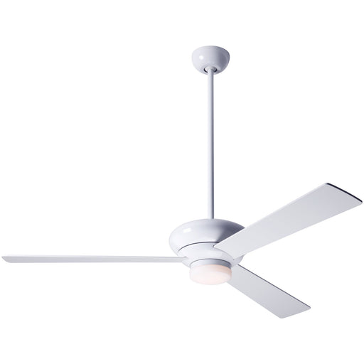 "Altus Ceiling Fan 42"" - Gloss White (LED Light)"
