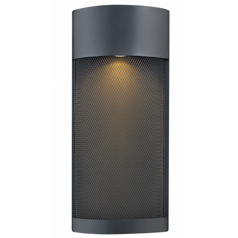 Aria Pocket Outdoor Wall Sconce - Black
