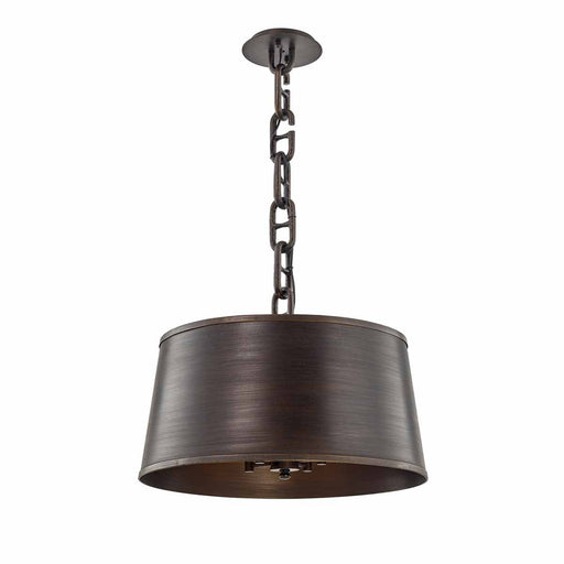 Admirals Row Large Pendant - Pompeii Bronze Finish