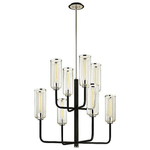 Aeon 8-Light Chandelier - Polished Nickel Finish