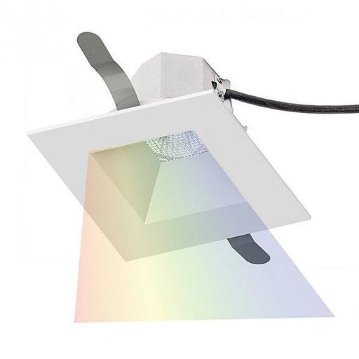 Aether 3.5 inch Square Color Changing Recessed Kit - White