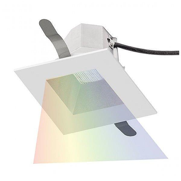 Aether 3.5 inch Square Color Changing Recessed Kit - Haze/White