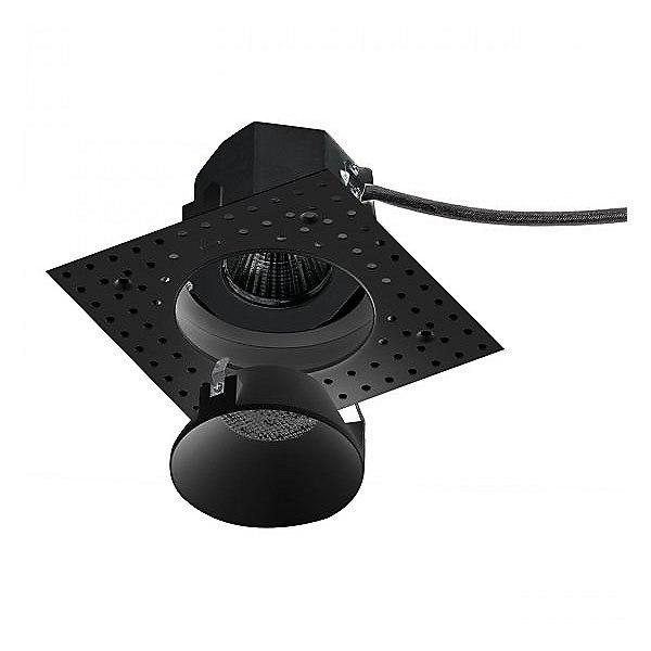 Aether Round Invisible Trim with LED Light Engine - Black