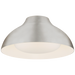 "Agnes 15"" Flush Mount - Burnished Silver Leaf Finish"