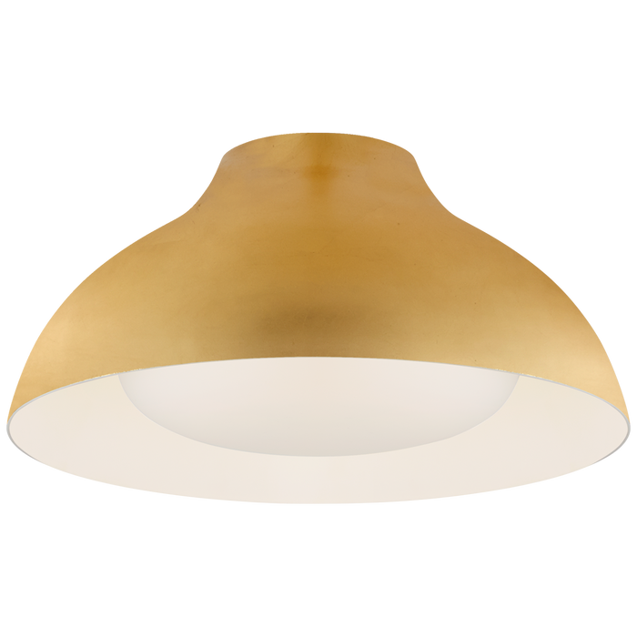 "Agnes 15"" Flush Mount - Gild Finish"