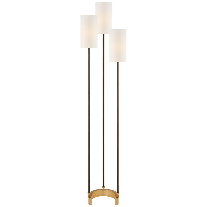 Aimee Floor Lamp - Bronze/Hand-Rubbed Antique Brass Finish