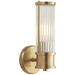 Allen Single Sconce - Natural Brass Finish