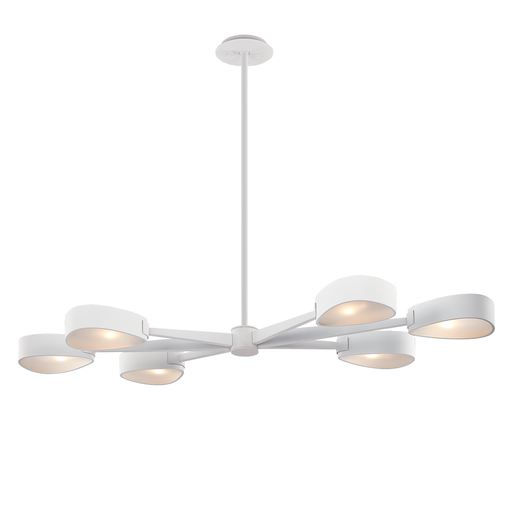 Allisio Linear Suspension - Textured White Finish