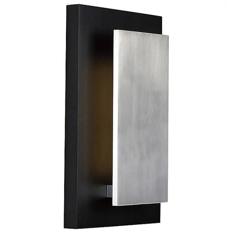 Alumilux AL E41335 LED Wall Sconce - Black & Satin Aluminum