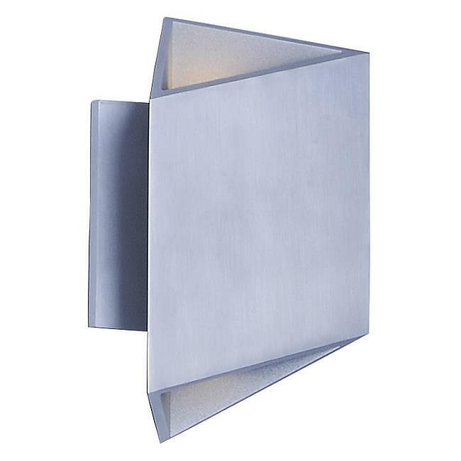 Alumilux AL LED Outdoor Wall Sconce E41373 - Satin Aluminum Finish