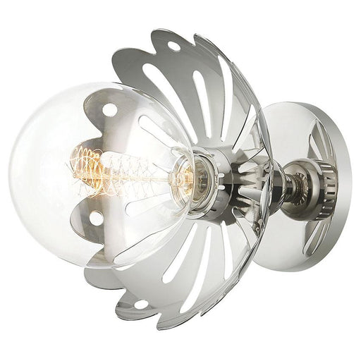 Alyssa Wall Sconce - Polished Nickel
