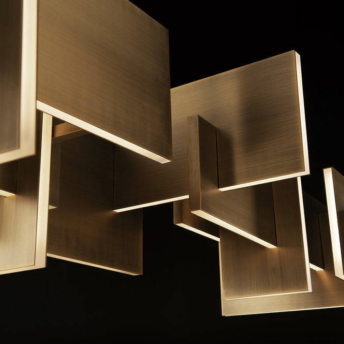 Amari LED Chandelier - Detail