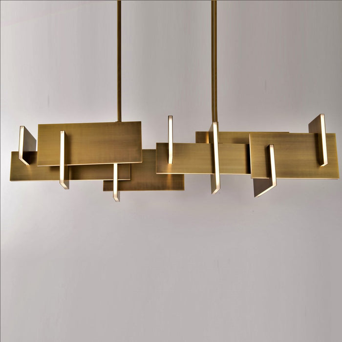 Amari LED Chandelier - Display