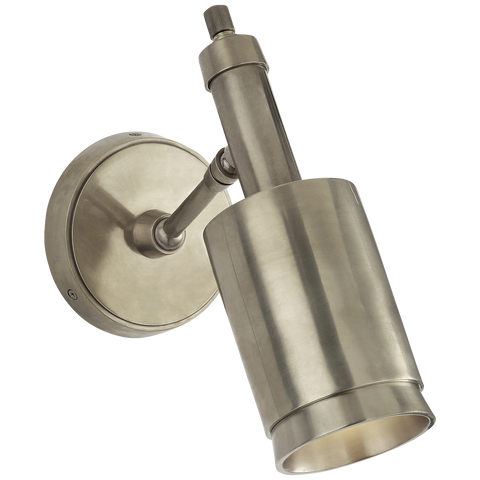 Anders Small Articulating Wall Light Nickel