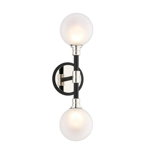 Andromeda Wall Sconce - Polished Nickel Finish