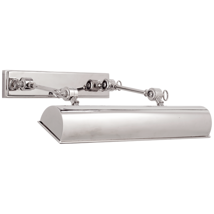 Anette Medium Picture Light - Polished Nickel Finish