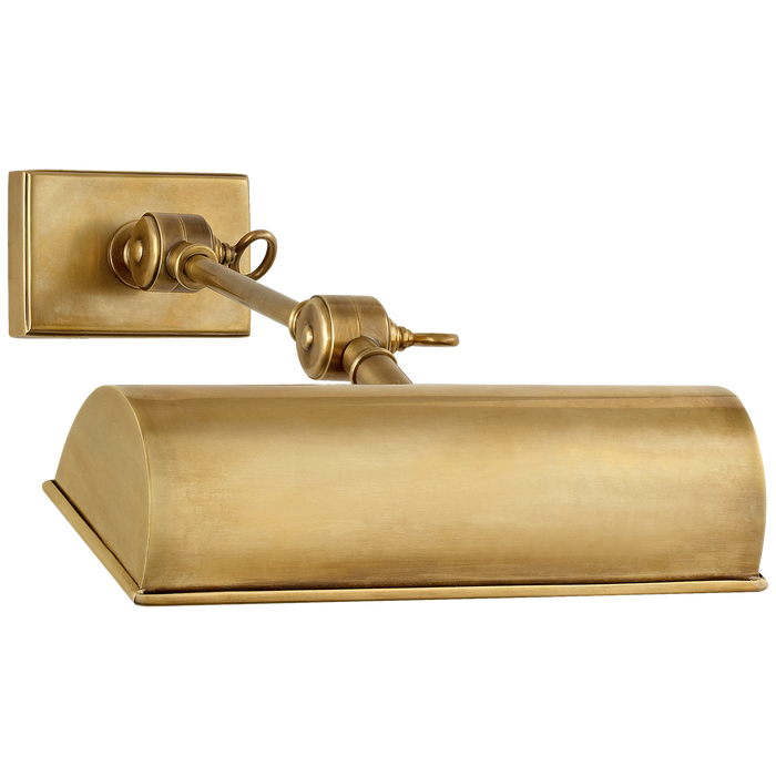 Anette Small Picture Light - Natural Brass Finish