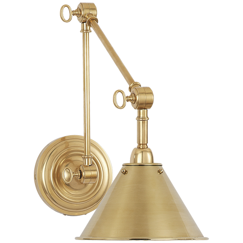 Anette Library Light - Natural Brass