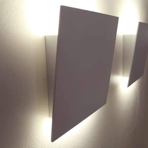 Angled Plane LED Wall Sconce - Display