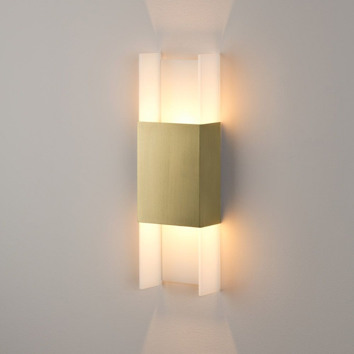 Ansa LED Wall Sconce - Brushed Brass Finish