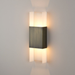 Ansa LED Wall Sconce - Distressed Brass Finish