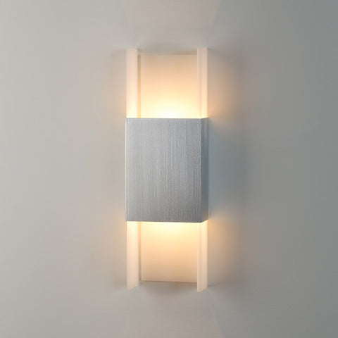 Ansa LED Wall Sconce Brushed Aluminum