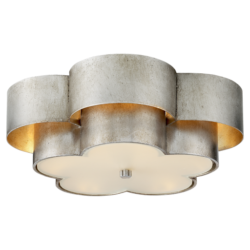 Arabelle Large Flush Mount - Burnished Silver Leaf Finish