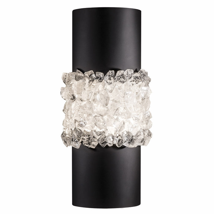 Arctic Halo 7 Inch Wall Sconce - Matte Black