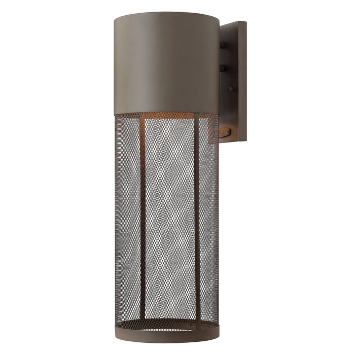 Aria Large Outdoor Wall Light - Buckeye Bronze Finish