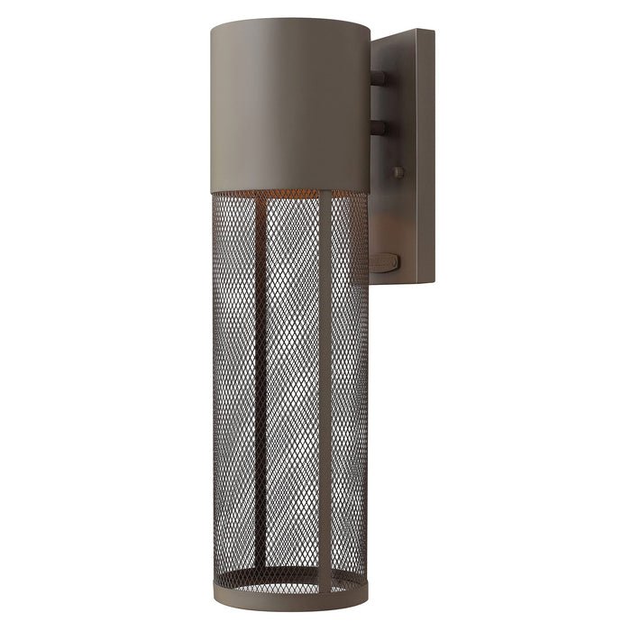 Aria Medium Outdoor Wall Light - Buckeye Bronze Finish