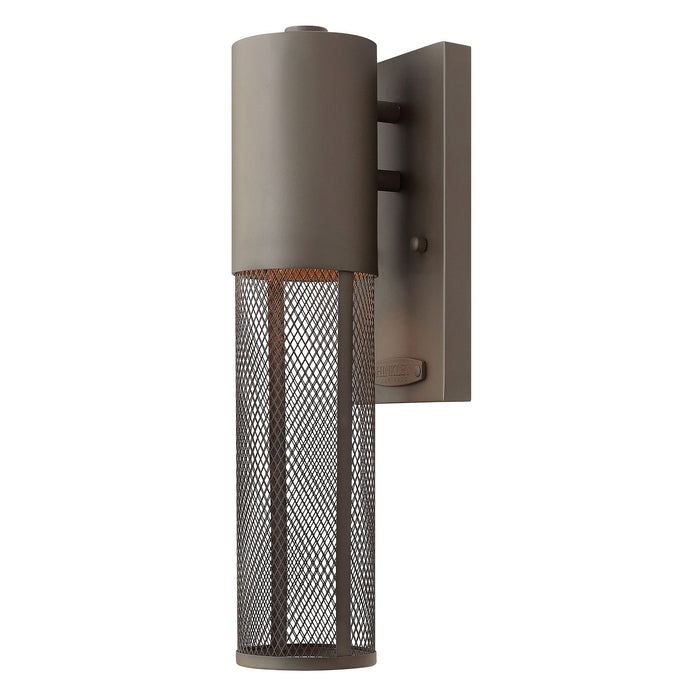 Aria Extra Small Outdoor Wall Light - Buckeye Bronze Finish