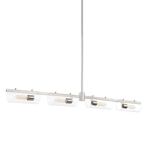 Ariel Linear Suspension - Polished Nickel