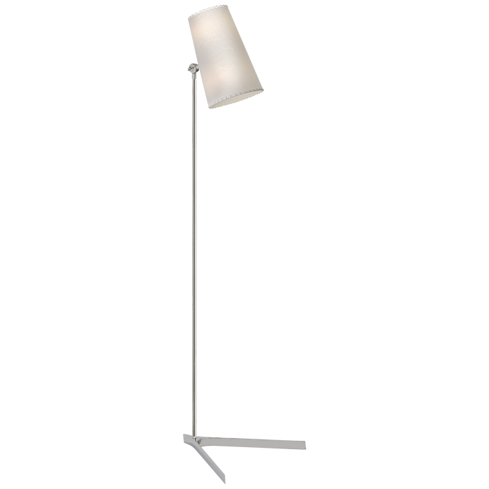 Arpont Floor Lamp - Polished Nickel Finish