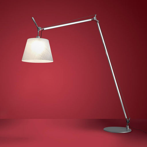 Tolomeo Maxi Floor Lamp - Aluminum Finish