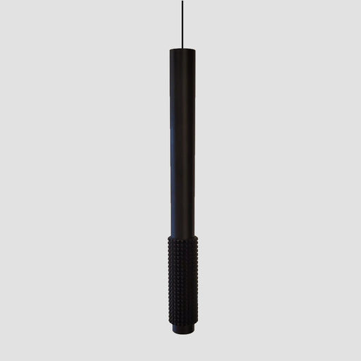 Cylinder Downlight Pendant - Black Finish