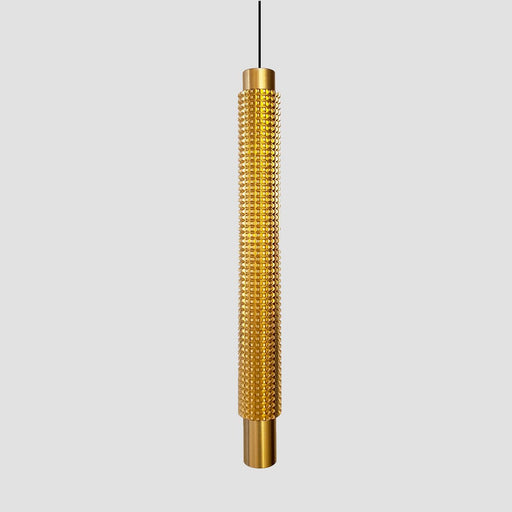 Cylinder Downlight Pendant - Gold Finish