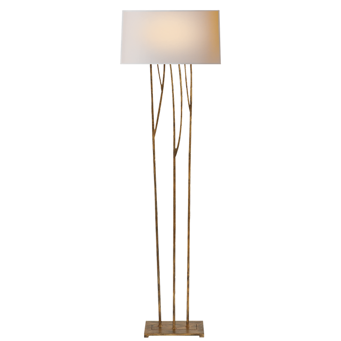 Aspen Floor Lamp - Golden Iron