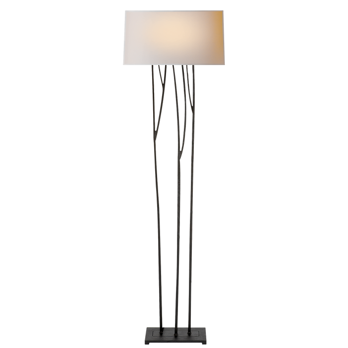 Aspen Floor Lamp - Blackened Rust