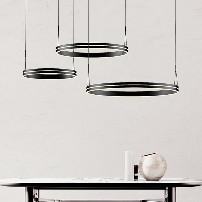 Athena Ring Chandelier - Display