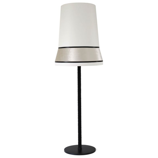Audrey Floor Lamp Black Trim