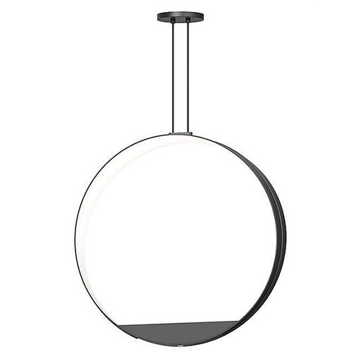 Aureola LED Pendant - Satin Black Finish
