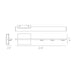 "Aurora 22"" 1-Light Wall Sconce - Diagram"