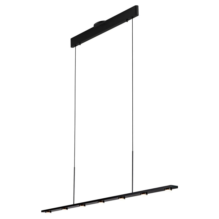 Aurora Linear Suspension - Satin Brushed Black Finish