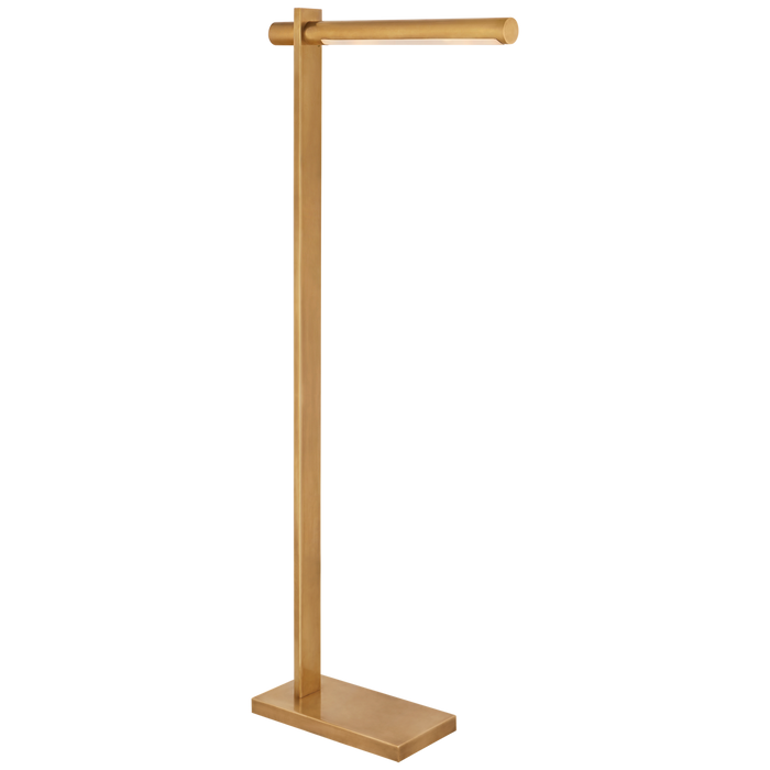 Axis Pharmacy Floor Lamp - Antique-Burnished Brass Finish