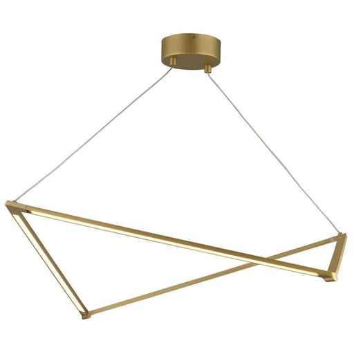 Balto Linear Suspension - Satin Gold Finish