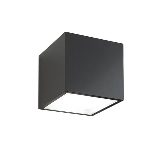 Bloc Outdoor LED Wall Light - Black Finish