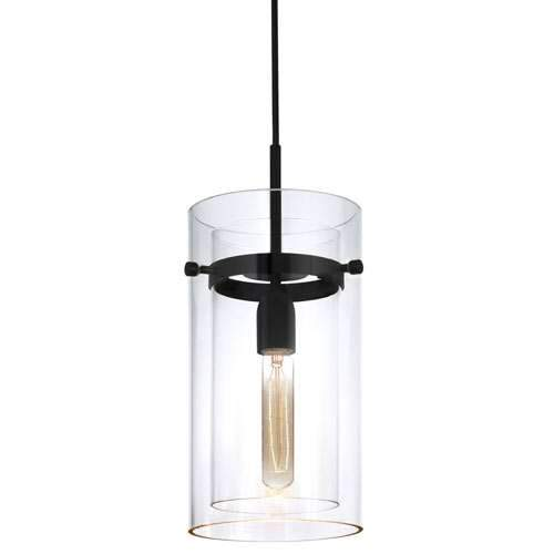Bleecker Street Pendant - Satin Black